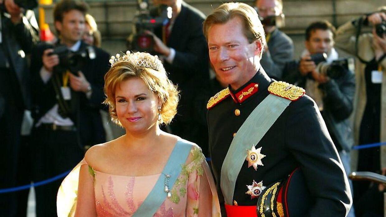 Storhertug Henri med sin hustru, Maria Teresa.