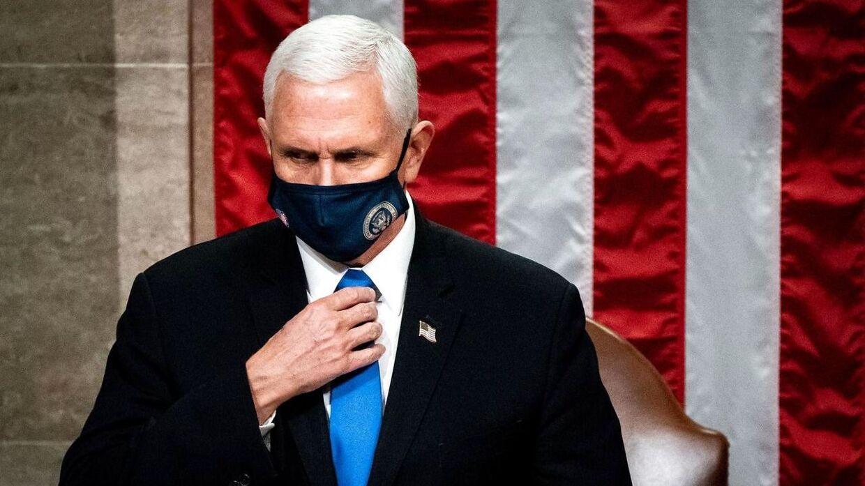 Arkivfoto af vicepræsident Mike Pence.