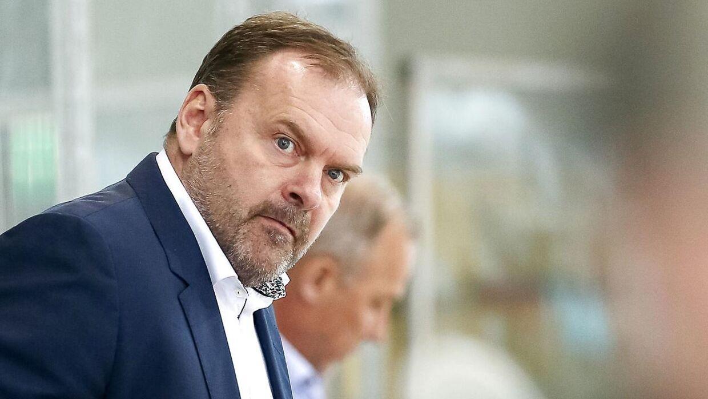 Landstræner Heinz Ehlers.