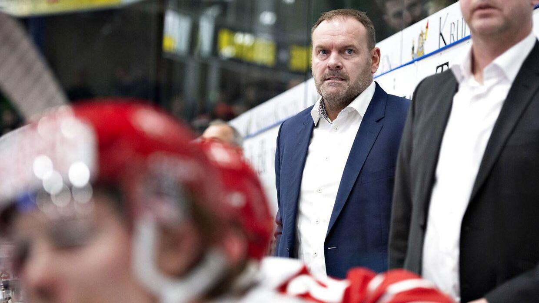 Landstræner Heinz Ehlers ser frem til igen at stå i den danske boks.