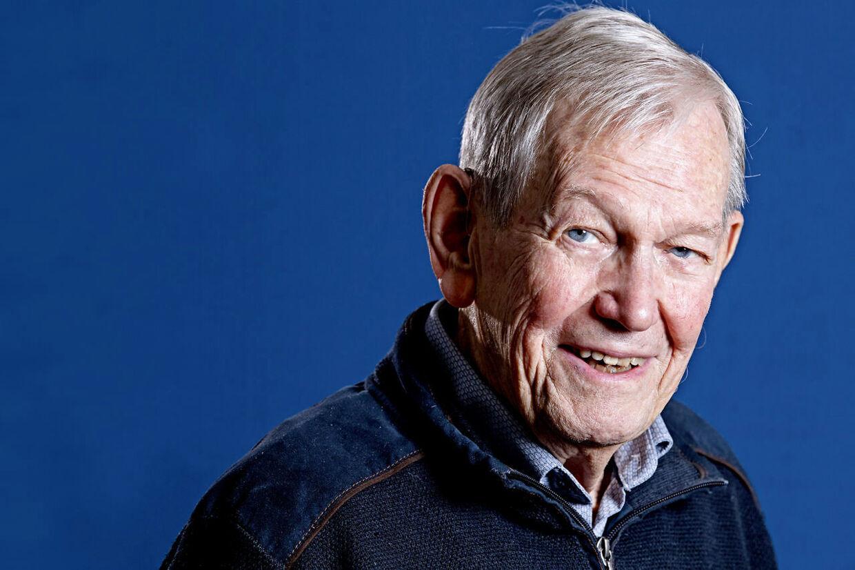 Et lyst og optimistisk sind har altid været Jørn Hjortings varemærke. Og det har han stadig, selv om han nu runder 90.