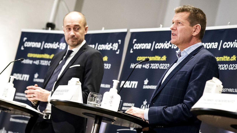 Søren Brostrøm er direktør i Sundhedsstyrelsen. (Foto: Ida Marie Odgaard/Ritzau Scanpix)