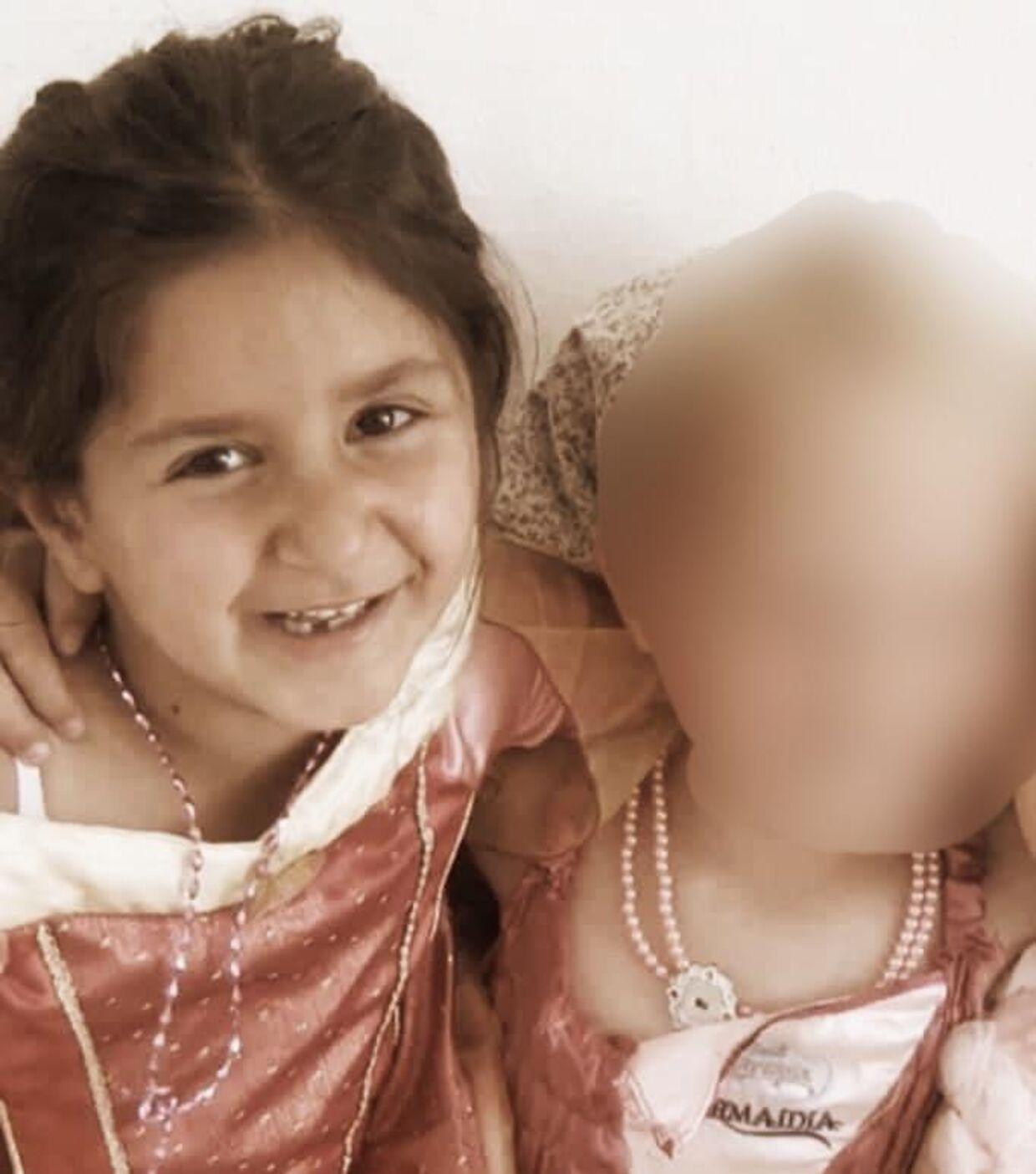 Sarah i børnehave. Hun levede som mange andre børn i Danmark, indtil hun blev ført ulovligt ud af Danmark til irakisk Kurdistan.