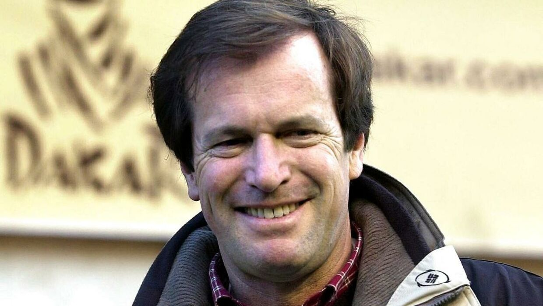 Hubert Auriol døde søndag. (AFP PHOTO EPA/BELGA/OLIVIER HOSLET)