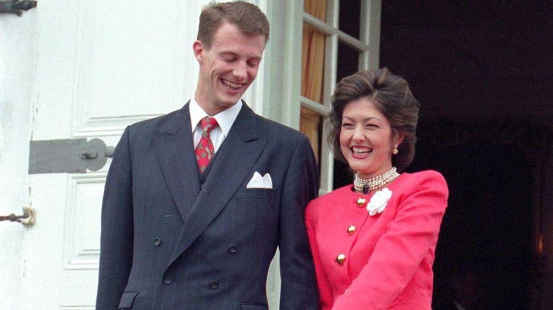 Arkivfoto af prins Joachim og grevinde Alexandra. Billedet er taget, da de to blev forlovet.
