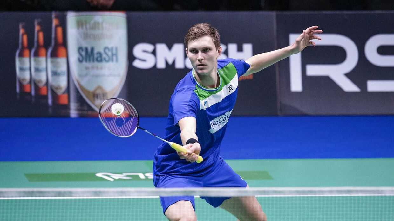 Axelsen og de andre danske badmintonstjerner er fanget i thailandsk corona-kaos. (Foto: Bo Amstrup/Ritzau Scanpix)