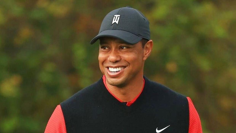 Tiger Woods er stadig aktiv.