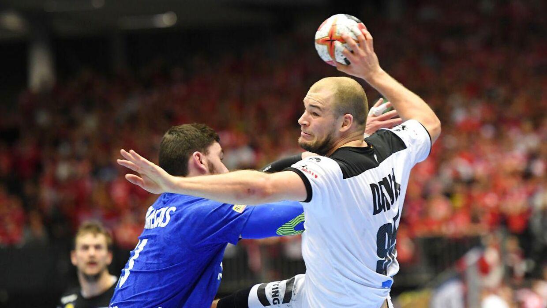 Paul Drux er en del af den tyske landsholdstrup, der helst ikke skal kæmpe med mavebøvl.