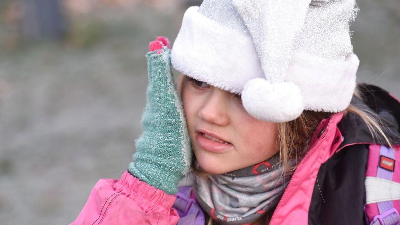 Husk det varme tøj i de kommende uger.