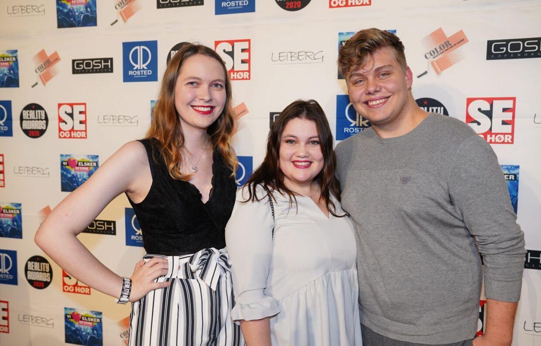 Rachel, Stephanie og Jeff fra 'Årgang 0'.