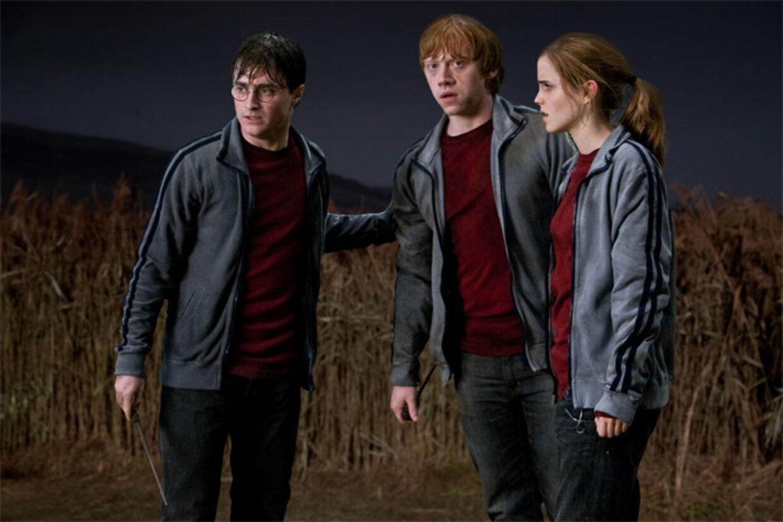 I sidste film - »Harry Potter og dødsregalierne, del 2« - er Daniel Radcliffe blevet 22 år, mens Rupert Grint er 23 og Emma Watson 21 år.