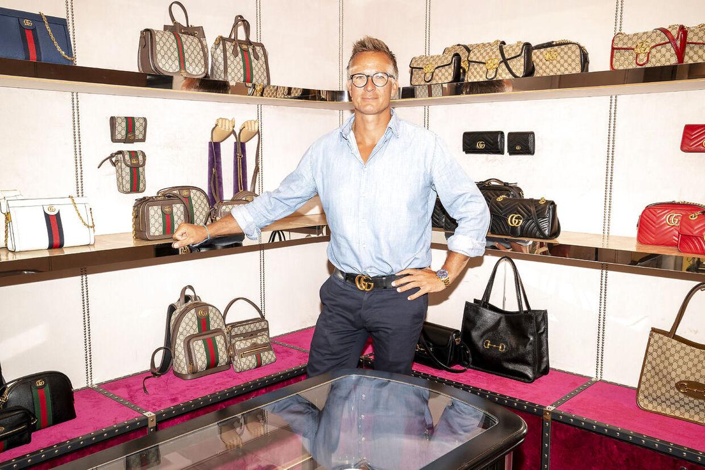 Thomas Møller, adm.chef hos Group 88, der blandt andet forhandler brands som Gucci og Burberry i Skandinavien.