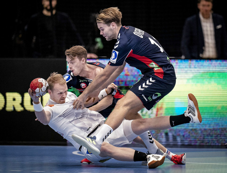 Danmark og Norge mødtes i en testkamp i lørdags. Desværre for Danmark og Anders Zachariassen tabte det danske landshold 34-36.