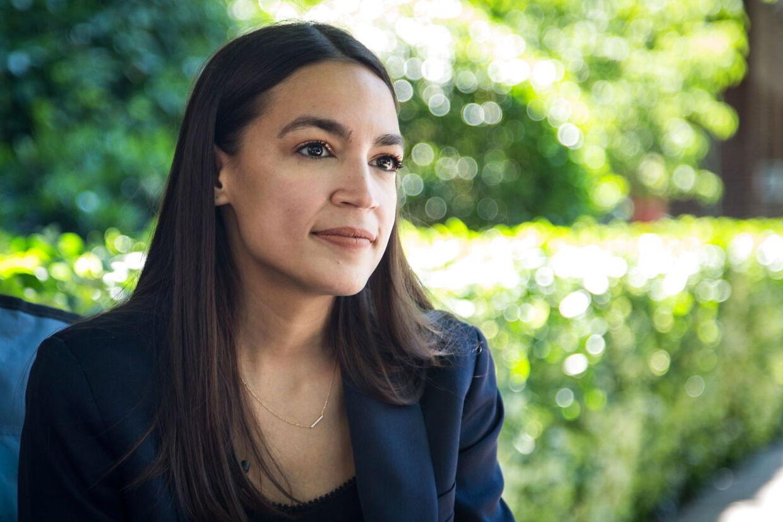 Alexandria Ocasio-Cortez er valgt i New York.