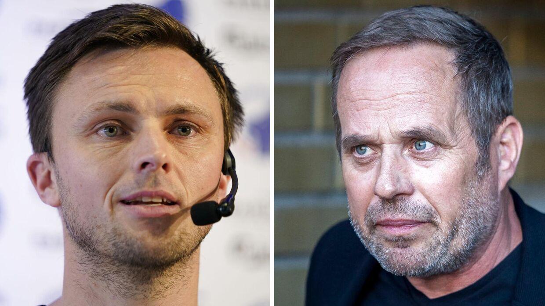 De sportslige ansvarlige i FCK og Brøndby, William Kvist og Carsten V. Jensen, håber begge at tegne kontrakt med Jonathan Ægidius.