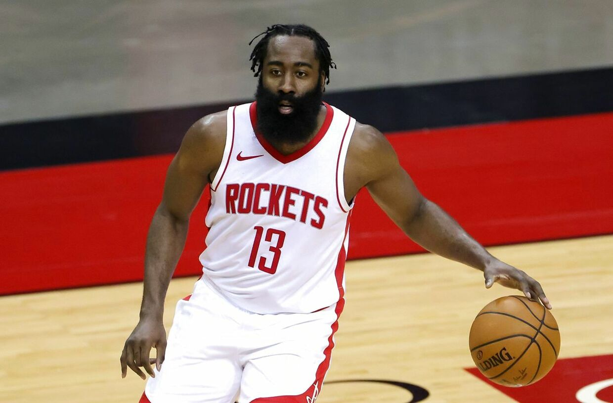 James Harden forlader Houston Rockets.
