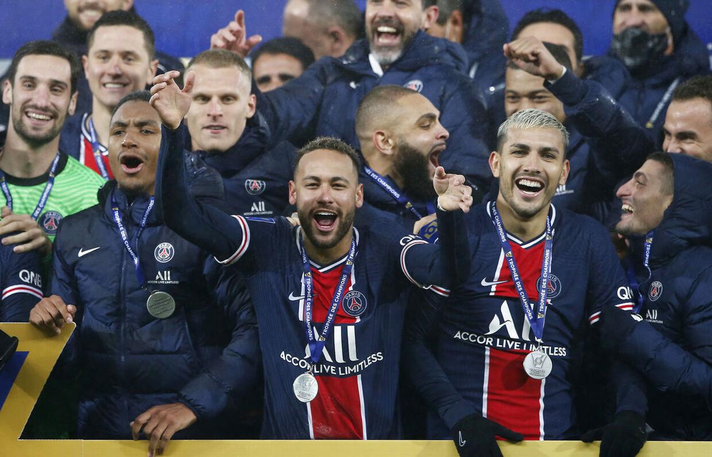 Neymar og PSG vandt den franske supercup over Marseille.