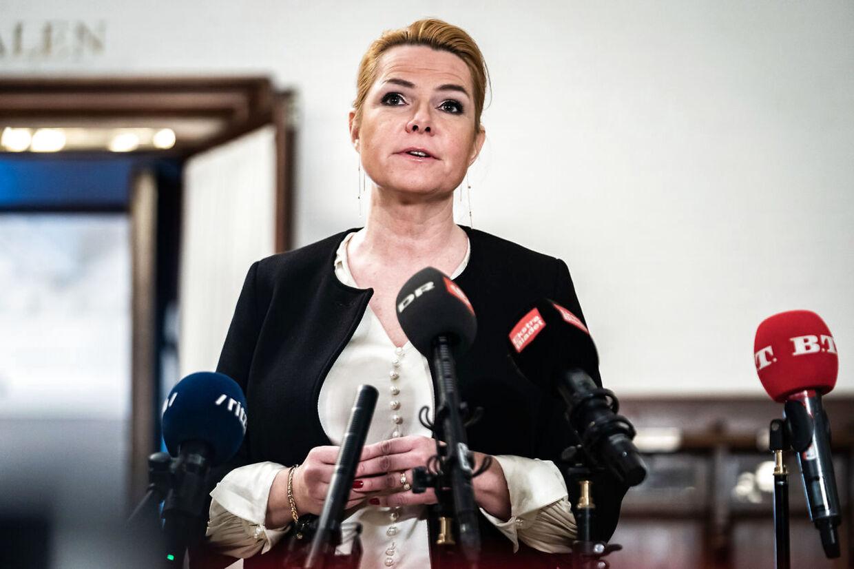 »Jeg er skuffet,« siger Inger Støjberg om sin formand.