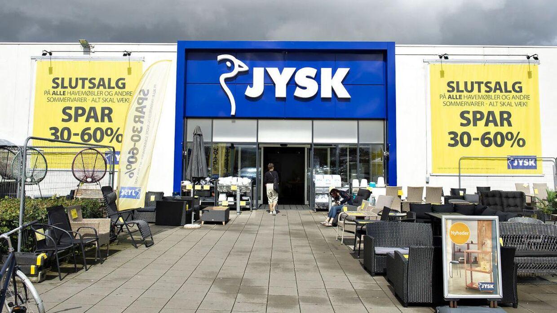 Jysks tyske butikker skifter nu navn, så de også hedder Jysk.
