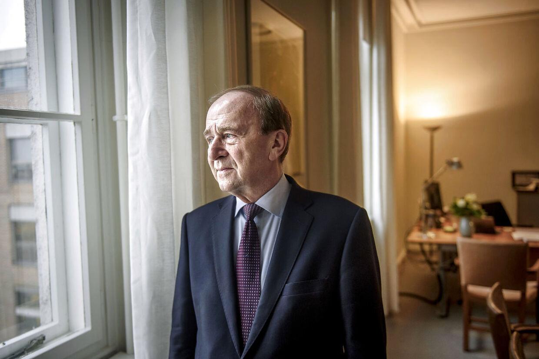 Hans Toft går af som borgmester i Gentofte efter 28 år.