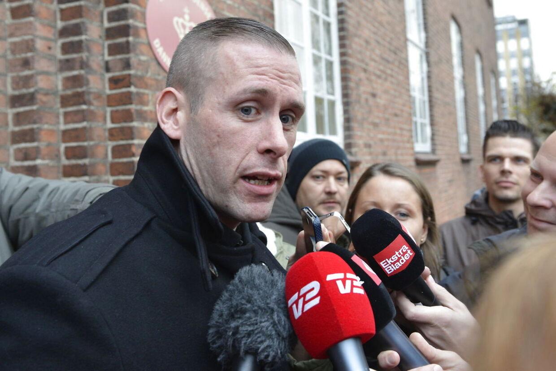 Liam O'Connor foran retten i Odense efter onsdagens dom.