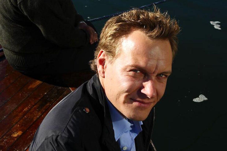 Journalisten Rasmus Tantholdt.