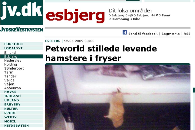 dyrehandler i sønderjylland