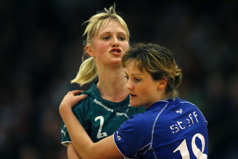 Efter at have været kærester og registrerede partnere i 11 år er det slut for Rikke Skov og Lotte Kiærskou.