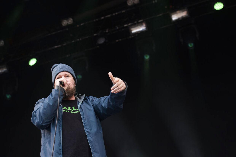 John Grant på Blue Stage Søndag d. 14/06-2015 på Northside Festival 2015.