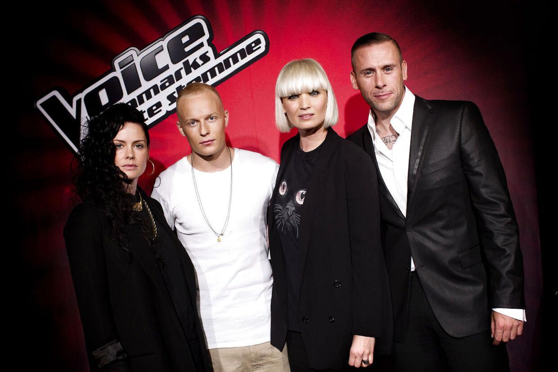 Mandag d. 3. september afholdte TV2 pressemøde på underholdningsprogrammet Voice - Danmarks største stemme. Tilstede var de fire dommere Sharin Foo, Lene Nystrøm, L.O.C. og Xander.