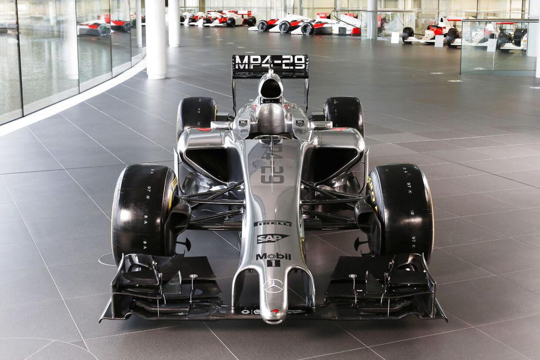 Kevin Magnussens nye McLaren MP4-29 vil ikke sætte danskeren i stand til at kæmpe med om VM-titlen allerede i debutsæsonen.