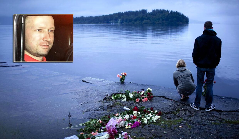 Anders Breivik var lørdag tilbage på Utøya. I otte timer viste han politiet rundt på øen og fortalte om de enkelte mord.