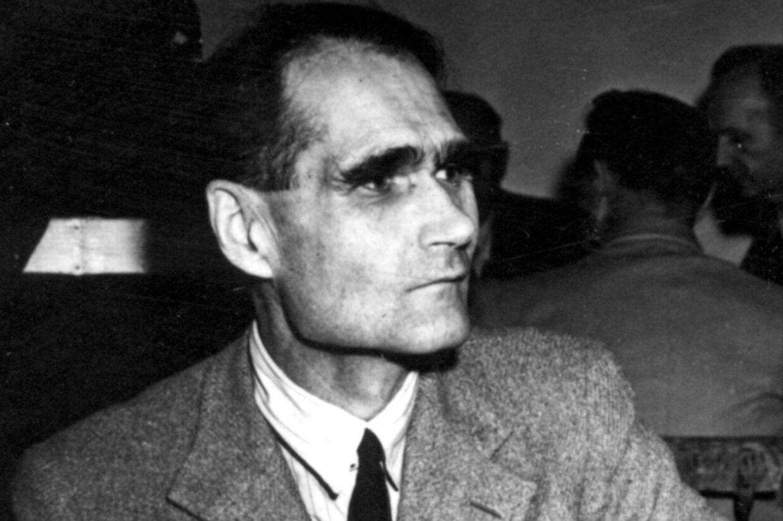 Arkivfoto af Rudolf Hess, Hitlers højre hånd.