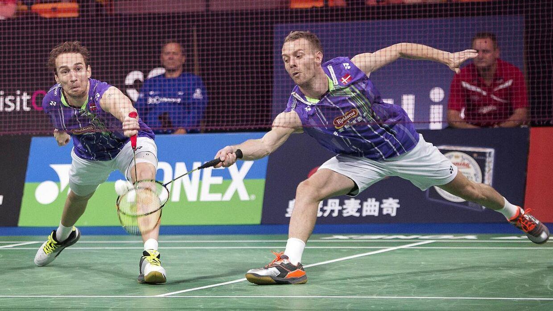 Danske Mathias Boe og Carsten Mogensen er i finalen i Hong Kong.