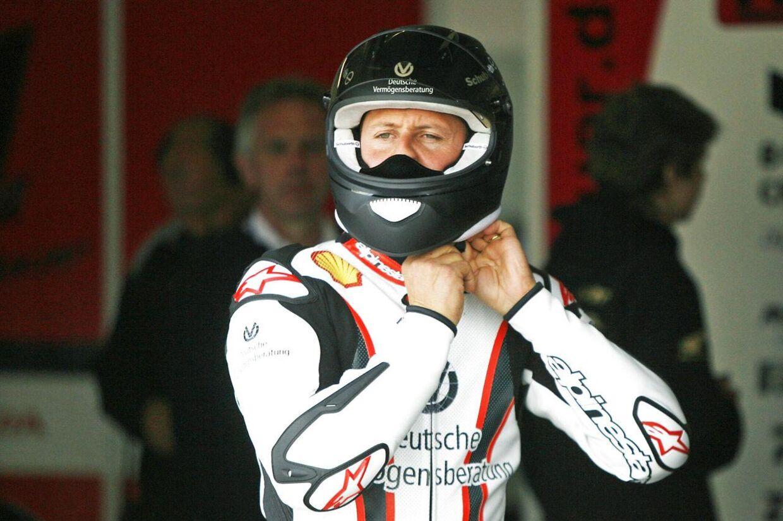 Michael Schumacher har før været involveret i alvorlige ulykker.