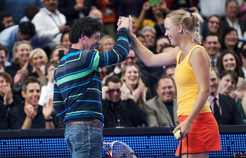 Rory McIlroy gik til forældrene først og anmodede om datterens hånd, inden han friede til Caroline Wozniacki nytårsaften.