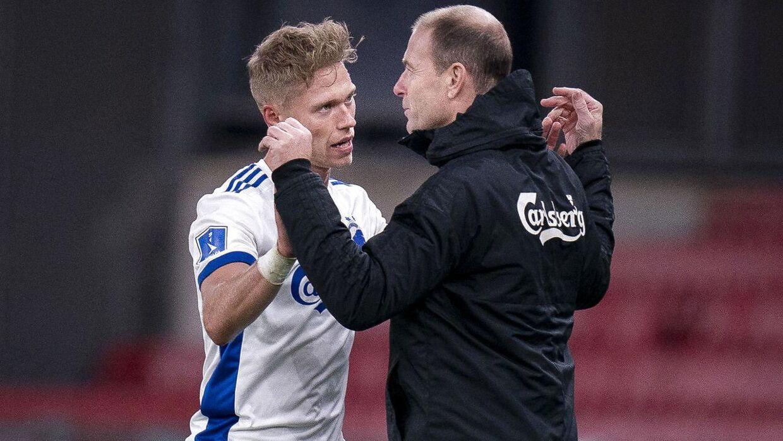 Cheftræner Jess Thorup, Viktor Fischer og resten af FC København-holdet indleder forårssæonen i begyndelsen af næste måned.