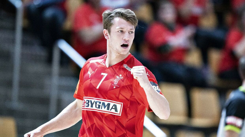 Emil Jakobsen er blevet testet for covid-19 ved VM i Egypten.