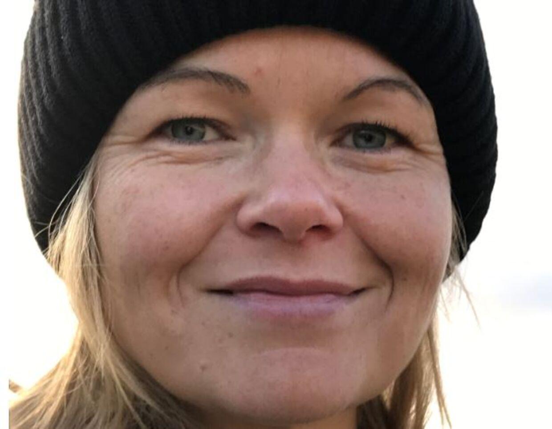 Tina Ravnsmed Hamborg fortæller, at hendes søn lavede en sneboldkamp med Majken Bentzen. Privatfoto