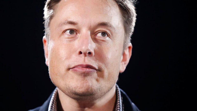 Tesla-stifter Elon Musk.