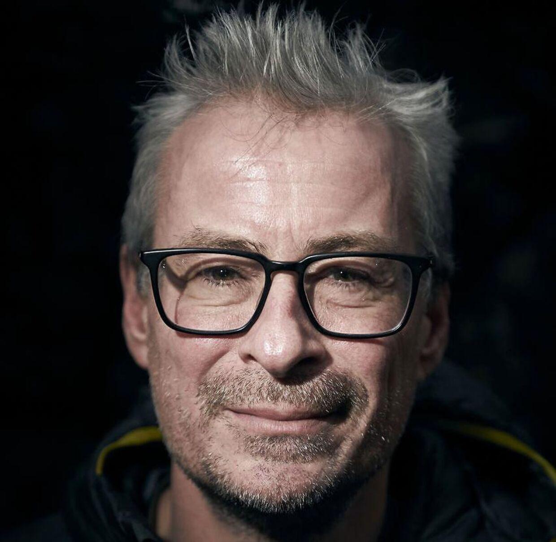 Professor Eske Willerslev lukker ikke sin dør, når han holder møder med kvinder på sit kontor. Arkivfoto