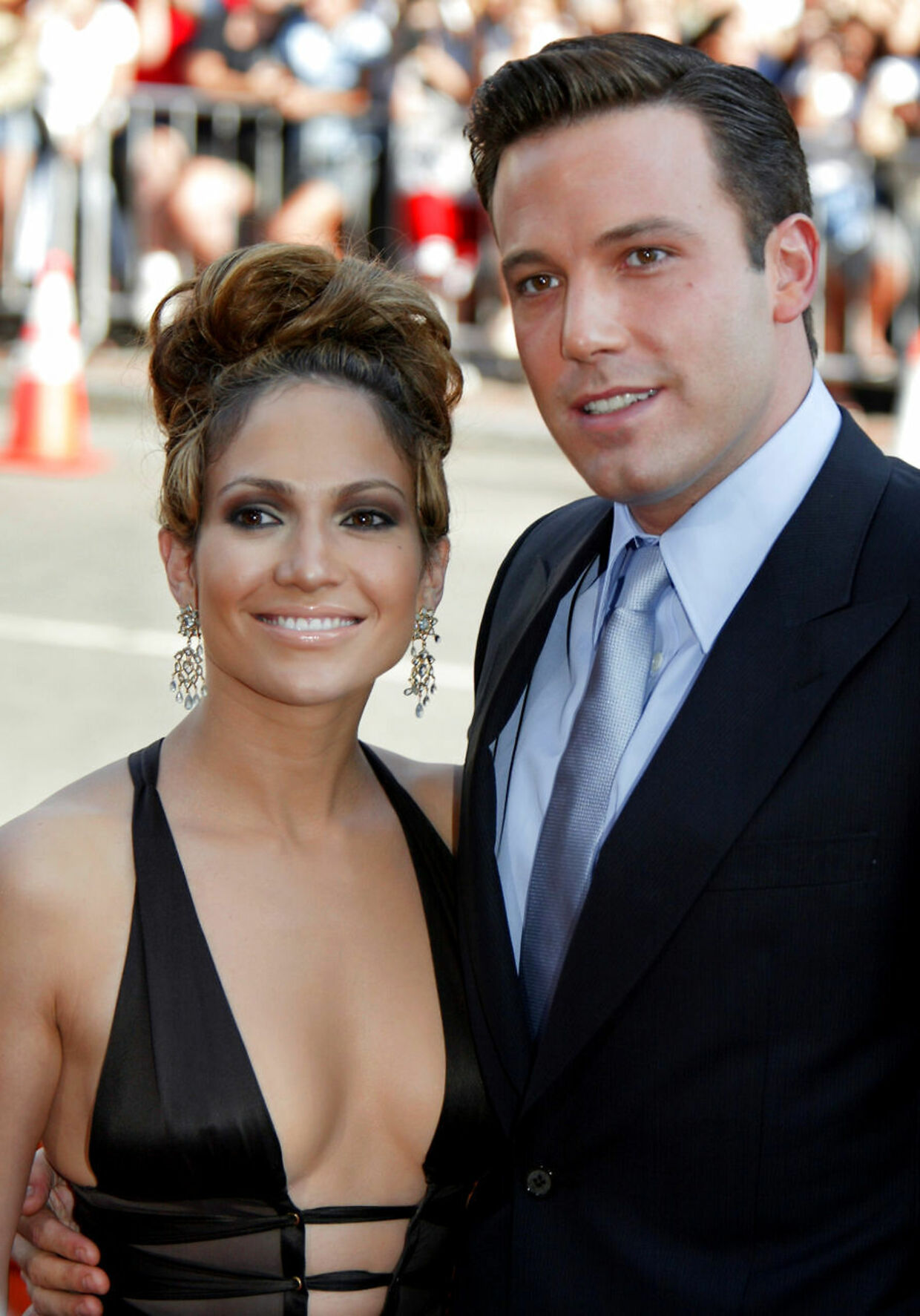 Med Jennifer Lopez i 2003.