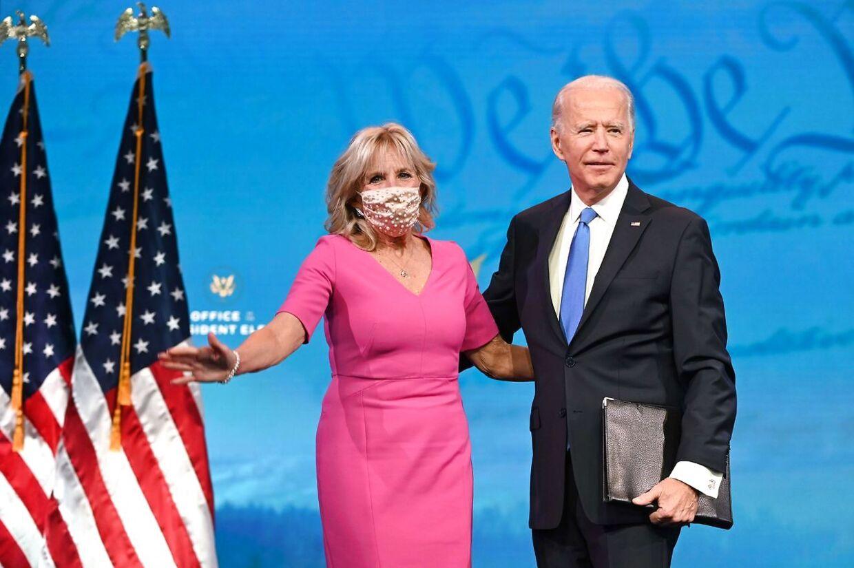Den nye amerikanske førstedame Jill Biden er 69 år, mens Joe Biden er 78.