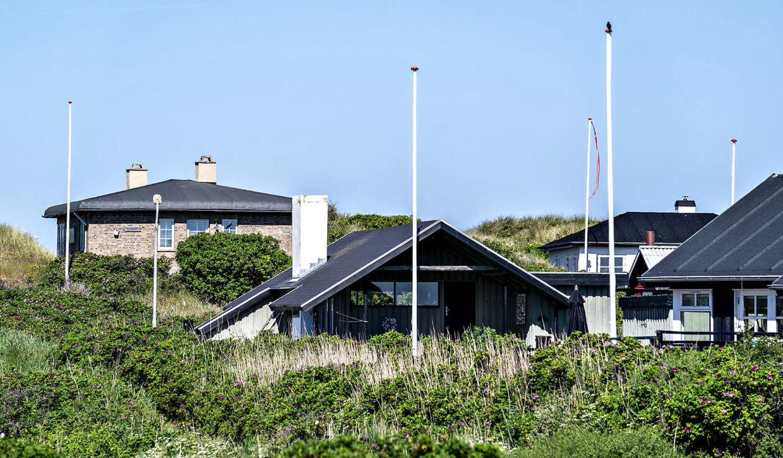 (ARKIV) Sommerhuse i Løkken.