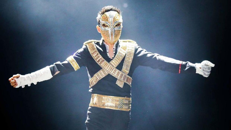 I 2017 gav Jack Ma den gas på scenen som Michael Jackson.