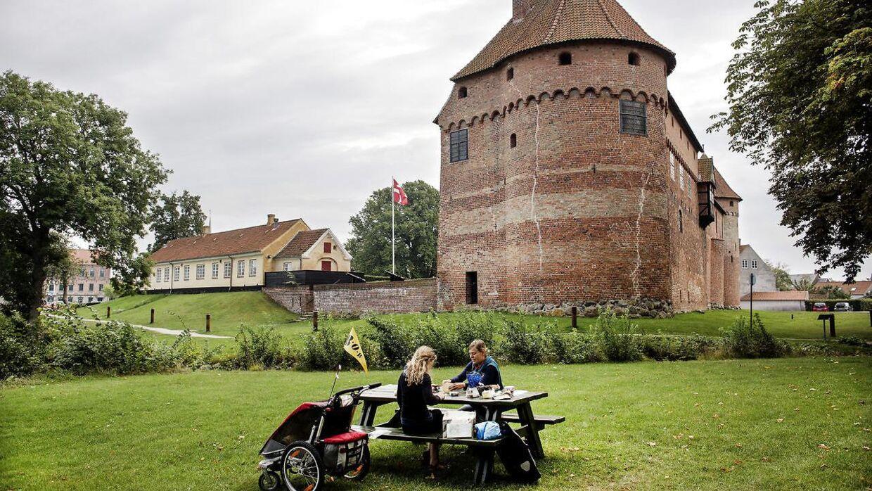 Nyborg Slot og parken omkring