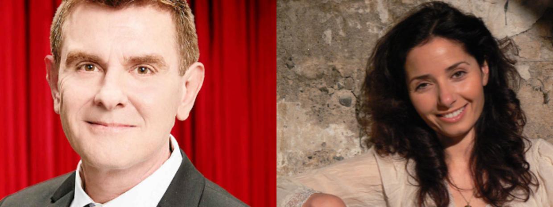 Søren Launbjerg og Ilia Swainson lagde stemme til Aladdin og Jasmin.