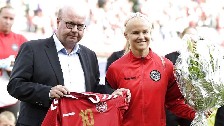Jesper Møller og Pernille Harder.