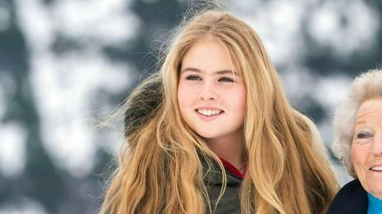 Her ses den 17-årige kronprinsesse.