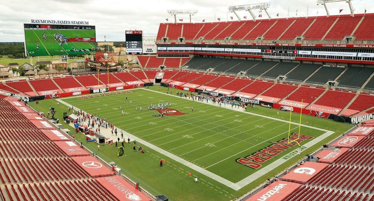 Raymond James Stadium i Tampa, Florida.